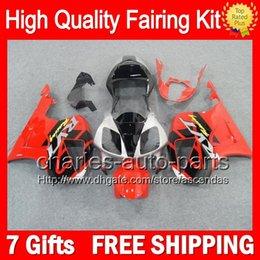 7gifts+Red silver Bodywork For HONDA VTR1000 00-07 VTR 1000 RTV1000 46CL VTR1000R Red black 00 01 02 03 04 05 06 07 RC51 SP1 SP2 Fairing Kit