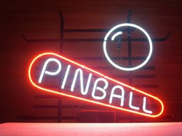 New Pinball Glass Neon Sign Light Beer Bar Pub Arts Crafts Gifts Lighting Size 22""