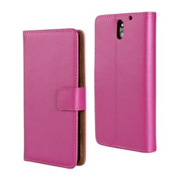 For HTC Desire 610 Texture Genuine Leather Wallet Phone Case Cover