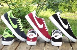 Wholesale HOT Sell men s Leisure Sport shoes Running shoes Skateboard shoes to help low shoes nike shoes EU39 EU44 size