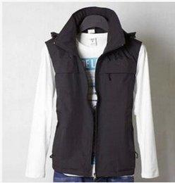 Fall-Hot ! Factory wholesale 2015 new fashion men's outdoor waterproof fleece vest vest jacket hooded jacket
