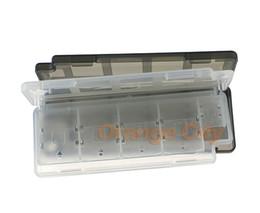 10in1 Game Memory Card Holder Storage Case Box For Sony Psvita ER 1000 2000 PSV Black And White