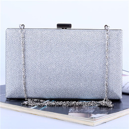 Wholesale Factory brand new handmade roomy evening bag clutch with satin PU for wedding banquet party porm(More colors)