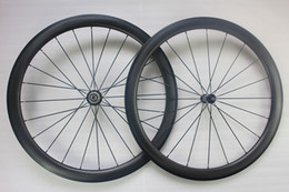 45mm road racing bike dimpled carbon wheels 700c clincher Powerway R36 carbon hubs aero spokes front 20 rear 24 carbone bicycle wheelset