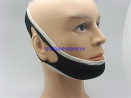 Wholesale New Stop Snoring Chin Strap Anti Snore Belt Apnea Jaw Support Solution Sleep Aid Night Snoring Cessation