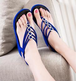 2015 new womens fashion summer flip flops sandals high wedge heels bead shoes women shoes beach slippers flat shoes