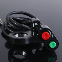 Wholesale Motorcycle ATV Bike Scooter Offroad quot Switch Horn Turn Signals On Off Light