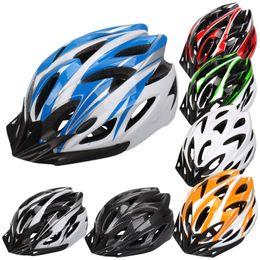 Wholesale 7 Colors Ultralight Cycling Helmet Breathable Bicycle Helmet Women Men Integrally molded Bike Helmet Visor CYC_807