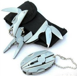 Wholesale Multi Function Folding Pocket Tools Plier Knife Screwdriver Keychain Case Set Wen