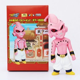 Dreamworks Movie Home OQ Version Dragon Ball Z Majin Buu PVC Doll Action Figure Collectible Toy With Box