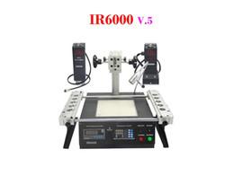 Wholesale Infrared and Hot air BGA rework station IR6000 V with heating head BGA chip repair machine