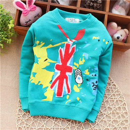 Wholesale Graffiti baby cool England flag and casual slipper street style picture hoody baby unisex sweater drop shippig KT256R