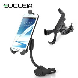 Wholesale Car Mobile Phone Holder Stand For Iphone6 s Samsung Galaxy Note USB Charger GPS PAD Support Bike Bicycle Mount Base