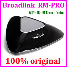 Wholesale Broadlink RM2 Rm Pro smart home Automation Intelligent controller wireless remote control for IOS android WIF I IR RF switch