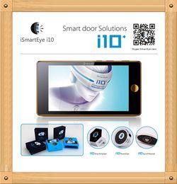 Wholesale New Arrived ismarteye i10 GSM Digital Door Viewer SMS MMS Email Photo Shooting Motion Sensor Degree