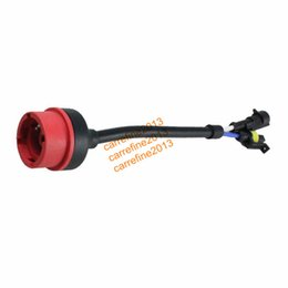 Wholesale 10pcs D2 AMP HID Xenon wires cable adapters for D2S D2C D2R headlight Wiring Harness Socket