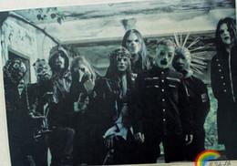 Wholesale Hanging Rock band Slipknot Slipknot Bar Cafe tattoo piano rehearsal decorative paintings cm