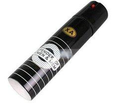 Wholesale SP1pcs Security self defense pepper spray ML black color SELF DEFENSE