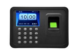 Wholesale USB quot TFT TCP IP Password biometric Fingerprint Time Attendance Clock Employee Payroll Recorder fingerprint punch clock