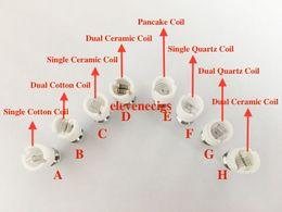 Wax Atomizer Dual Wax Coil Dual Quartz Coil For Glass Globe Bulb Vape Pen Wax Dry Herb Vaporizer