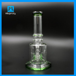 Crystal clear Hookah water recycler water pipe two function with oil rig herb bowl Top Quality glass water