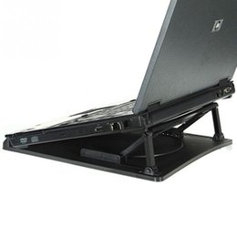 Wholesale-Adjustable Angle Laptop Cooling Stand Ergonomic Cooler Cooling Pad With Stand Holder PC Laptop Notebook