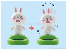 Wholesale Hot APP Solar Toys Accessories Without battery Toys Active Head Doll of Design Freedom Swing Fun Solar Energy Car Accessories