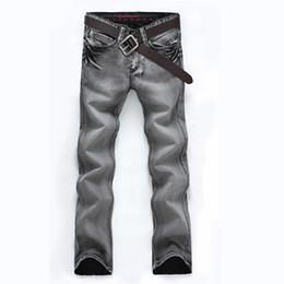 Wholesale 2015 Vintage Winter Men s Slim Fit Designer Jeans Famous Brand Denim Pants Jeans for Men Fashion Casual Design Denim Jeans
