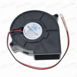 Wholesale 75mm DC Brushless Blower Cooling Exhaust Fan Volt x30mm mm x mm S New Fans amp Cooling