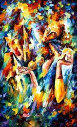 sweet dreams Painting by Leonid Afremov,Landscape Modern Art,High quality,Hand-painted