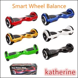 Wholesale Smart Balance Wheel with Bumper Strip Well Protected Two Wheel Self Balancing Electric Scooter mah LG Sumsung Battery Color Fast Fedex
