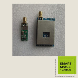 500MW wireless video and audio transmission transceiver module transmitting and receiving a FPV model of aerial special
