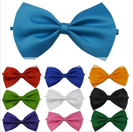 New Fashion Man and Women printing Bow Ties Neckwear children bowties Wedding Bow Tie 18 color