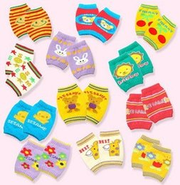 Wholesale Cartoon sets kneepad elbow cuish multifunctional cotton ankle sock baby summer autumn and winter air conditioning