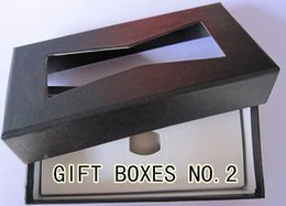 New 2014 bow tie bowtie butterfly gift boxes ties for men Packaging gift box for bow ties A2