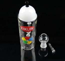 Wholesale 2015 New KRYLON Spray Can Paint Inline Perc Oil Rig Bubbler Oil Rig KRYLON Glass Water Bong MM