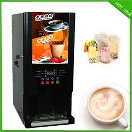 Wholesale kinds drinks hot and cold hot coffee drinkings bubble tea instant coffee vending machine milk vending machine
