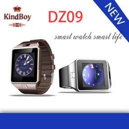 Wholesale 2015 inch Bluetooth Smart watch DZ09 SIM Phone Call Write Watch Pedometer Camera for iPhone Plus S Samsung S6 Note