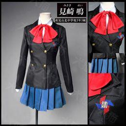 Another Misaki Mei Akazawa Izumi Costume Anime Cosplay Japanese School Uniform Dress For Girls
