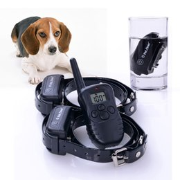 Wholesale 50pcs Dog Waterproof M Rechargeable Dog Training Collar Anti Bark With Box WALZY C