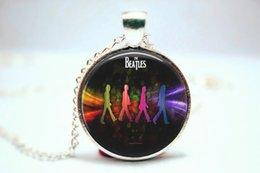 Wholesale 10pcs The Beatles vision Necklace Glass Photo Cabochon Necklace