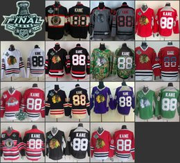 Wholesale chicago patrick kane Practice CCM Throwback Final Stanley Cup Season ICE Hockey jerseys Price Polyester Jersey
