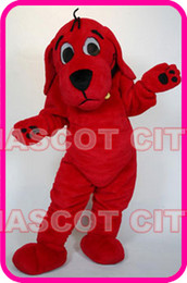 Wholesale Clifford The Big Red Dog mascot costume custom fancy costume cosply kits mascotte fancy dress carnival costume