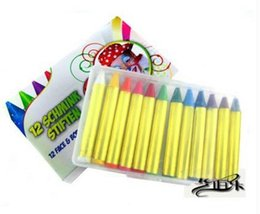 Wholesale general color body painting pen painting pigments crayon wax art painting best children s graffiti pen