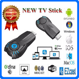 2017 androide dlna palo de televisión Chrome cast Smart V5ii TV Stick EZcast Vsmart WIFI Display Dongle DHMI 1080P DLNA Airplay Para Windows IOS Android