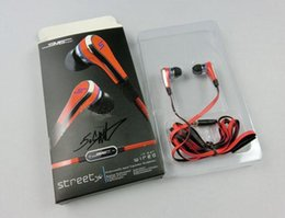 Wholesale Cheapest Price Mini cent SMS Audio cent In Ear headphones with Mic earphone STREET by Cent post air mail