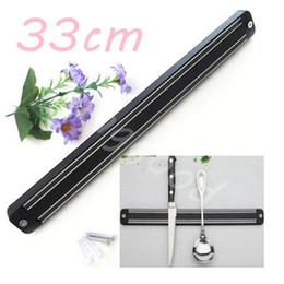 Wholesale cm Wall Mount Magnetic Knife Scissor Storage Holder Chef Rack Strip Utensil Kitchen Tool