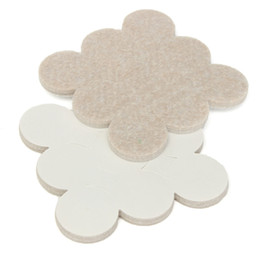 Wholesale Best Price Top Quality Self Adhesive Floor Furniture Wall Chair Scratch Protector Felt Round Pads order lt no track