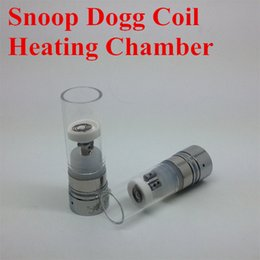 Wholesale SNOOP DOGG Heating Chamber dry herb vaporizer pen Atomizer atomization core Replacement SNOOP DOGG Atomizer Snoop dogg coil IN STOCK