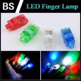 Doigt Lampe LED Finger lumières anneau Glow laser Finger Poutres Party flash lumières Finger Kid Jouets 4 couleurs 100pcs cadeaux de Noël à partir de laser conduit doigts fabricateur